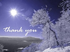 Thank You from Carol Bulman