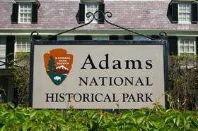 Adams National Historical Park in Quincy, MA