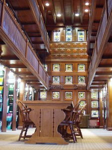 Beautiful Quincy, MA Thomas Crane Public Library Interior