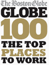 Boston Globe Top Places to Work Winner