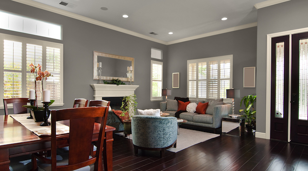 fascinating grey living room paint color ideas   How to Make Your Home Appeal to First-Time Home Buyers ...